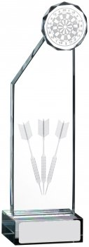 8inch EDGE DARTS GLASS