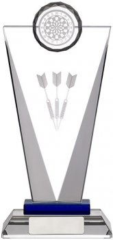 8inchGLASS DARTS AWARD