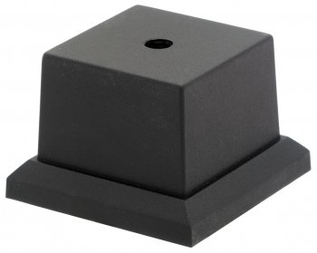 BLACK WEIGHTED BASE 2inchx2inch PACK 55