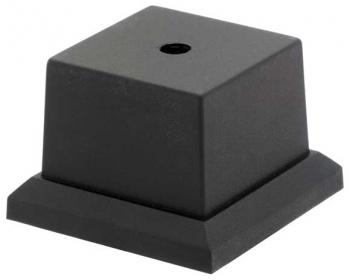 BLACK WEIGHTED BASE 2.25x2.25inch PACK 40