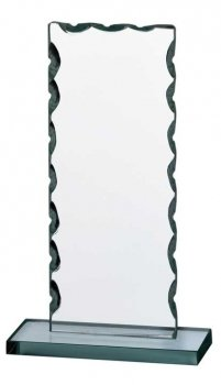 GLASS PLAQUE 8.25inch PACK 24