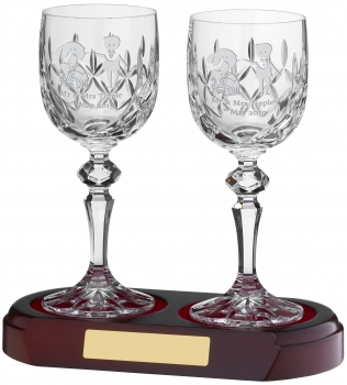 20ctl WINE GLASS PANELLED