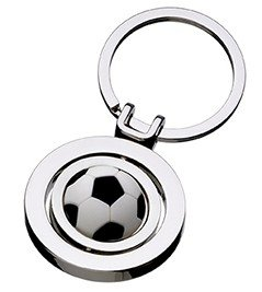 FOOTBALL SPINNER KEYCHAIN