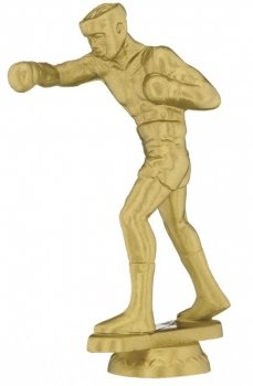 5inchGOLD BOXING FIGURE