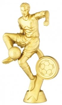 5inchGOLD MALE FOOTBALL FIGURE
