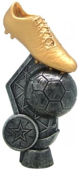 140MM SILVER FOOTBALL BOOT