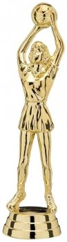 4.75inchGOLD NETBALL FIGURE