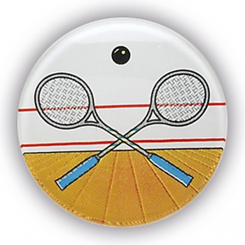 SQUASH RACKETS 1inchDOMED CENTRE