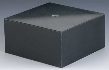 BLACK MARBLE 75X75X40mm PACK 40