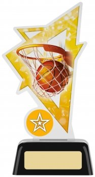 6.25inch BASKETBALL ACRYLIC AWARD