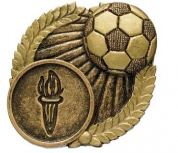 ANTIQUE GOLD SOCCER BALL TRIM