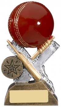 5.25inch EXTREME CRICKET RESIN AWARD