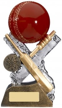 6.75inch EXTREME CRICKET RESIN AWARD