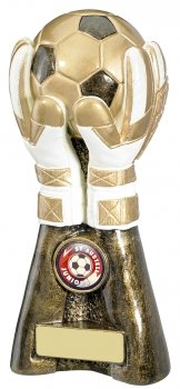 8inchGOAL KEEPER FOOTBALL TROPHY