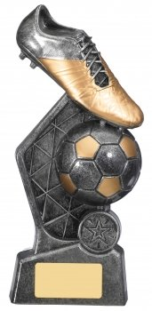 8.75inch HEX FOOTBALL TROPHY