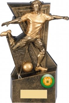 7.5inch GOLD LEGACY FOOTBALL TROPHY
