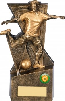 10inch GOLD LEGACY FOOTBALL TROPHY