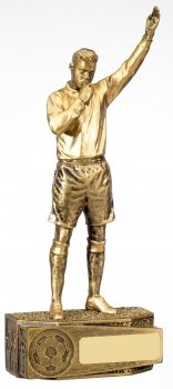7inchFOOTBALL MALE REFEREE TROPHY