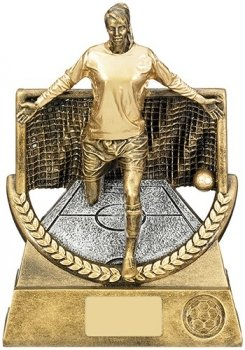 8.5inch FEMALE FOOTBALL TROPHY