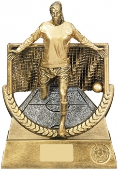 9.5inch FEMALE FOOTBALL TROPHY