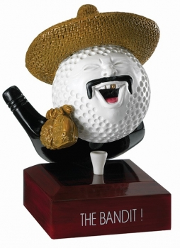 5inchGOLF THE BANDIT AWARD