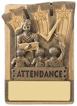 MINI MAGNETI ATTENDANCE TROPHY T/82     128/case