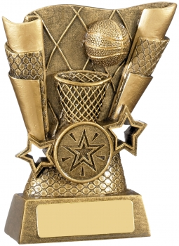 4.25inch BASKETBALL SCENE AWARD