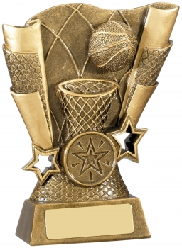 5inch BASKETBALL SCENE AWARD