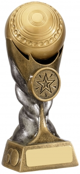 6inch LAWN BOWLS AWARD T/64   CASE 24   S112