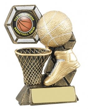 4.25inchBASKETBALL THEME TROPHY