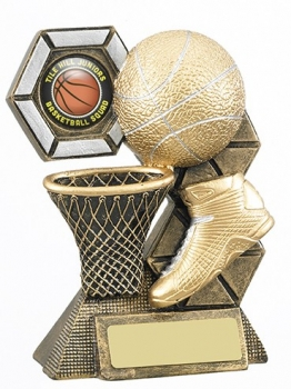 5inchBASKETBALL THEME TROPHY