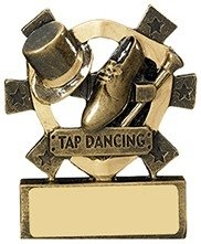 3 1/8inchTAP DANCING MINI SHIELD