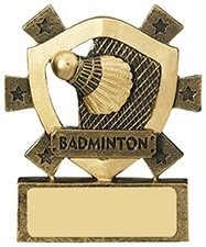 3 1/8inchBADMINTON MINI SHIELD