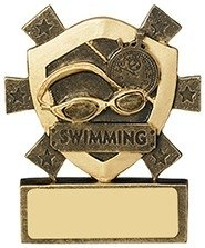 3 1/8inchSWIMMING MINI SHIELD