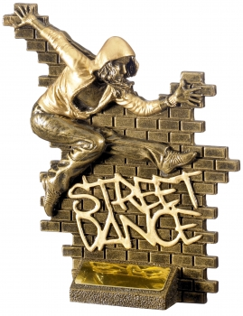 6.25inch STREET DANCE FEMALE AWARD