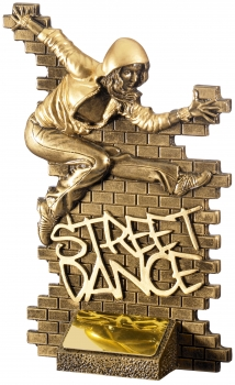 7.25inch STREET DANCE FEMALE AWARD