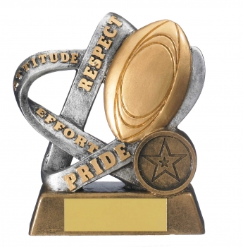 4.25inch INFINITY RUGBY AWARD
