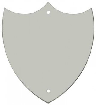 CHROME TRIM SHIELD 1.25inch