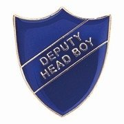 BLUE DEPUTY HEAD BOY SHIED BADGE