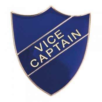 BLUE VICE CAPTAIN SHIELD BADGE