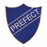 BLUE PREFECT SHIELD BADGE