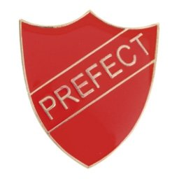RED PREFECT SHIELD BADGE