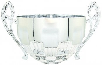 160MM SILVER BOWL WITH HANDLES