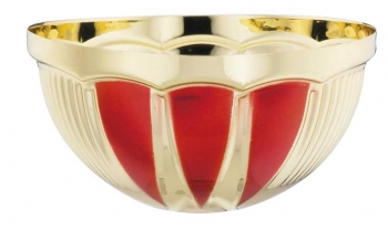 RED/GOLD 1/2 BOWL 80mm